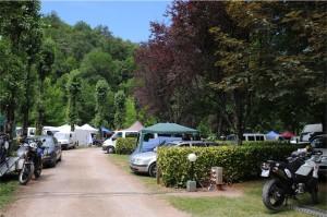 Le camping de Villecomtal. Que du bonheur pour les vieux campeurs