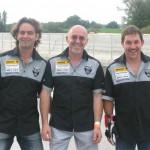 Dimanche, 600 miles, avec Fab et Moustic, aussi bons en amitié qu'en pilotage ...