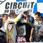Merci les amis pour mon dernier podium en moto. Et merci le desmodue :)