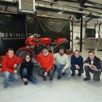 Ah l'équipe... de gauche à droite : Maximilien, Séverine, Simon, Etienne, Fabienne, Christophe. Un grand merci à vous, les Beringeriens.
