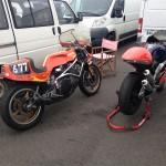 Les motos (enfin pas toutes...) de l'Etienne
