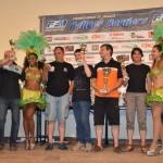 Le podium du rallye du Dourdou 2014