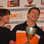 Marei Laure et Hervé - KTM RC8R - 2ème