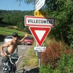 Et bien sur à Villecomtal, il y a le Dourdou, petite rivière de montagne...